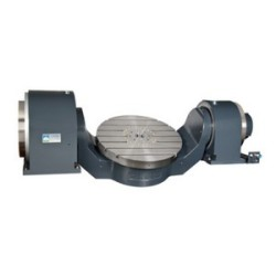 CNC-Tilting-Rotary-Table-with-Two-DD-Motors