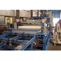 CORRUGATE FORMING SHEET EXTRUSION MAKING MACHINE