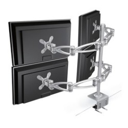 Clamp-Mount-Multiple-Monitors-Arm