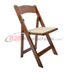 Classic-Mahogany-Wood-Folding-Chair