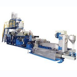Die Face Cutting Extrusion Pelletizing Machine