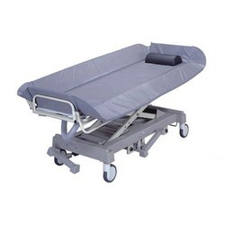 Dual-hydraulic-shower-bed