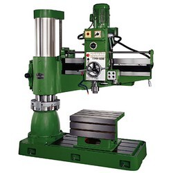 Electric Clamping Radial Drill Machines