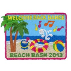 Embroidered-Patch-Beach-Bash