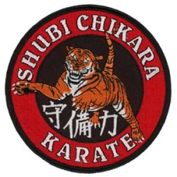 Embroidered-Patch---Martial-Art---Karate---Dojo