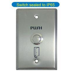 Exit Push Button (switch Sealed To IP65)