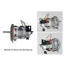 Fan motor with ball bearing king fortune electrical co for Electric motor bearings suppliers