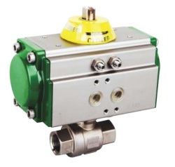 Full-Port-Two-piece-Ball-Valve-Screwed-End