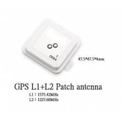 GPS-L1L2-Patch-Stacked-Antenna