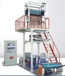 HD LDPE Blown Film Extrusion Machine