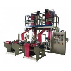 HDPE / LDPE Twin Head High Speed Blown Film Machine