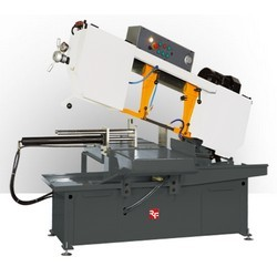 Heavy-Duty--Semi-Auto-Band-Saw-Machine