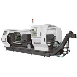 Heavy-Duty-CNC-Lathe-Flat-Bed
