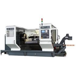 Heavy-Duty-CNC-Lathe-Flat-Bed