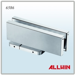 Hydraulic-Clamp-Floor-Spring-Door-Closer