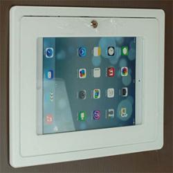 In Wall Mounting iPad KIOSK Enclosure