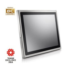 19 Inch Industrial Food-grade Stainless Full Flat Core I Fanless Panel PC