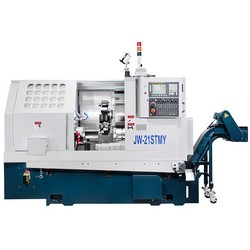 JW-21M-HIGH-PRECISION-SLANT-BED-CNC-LATHE