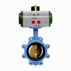 Lug-Double-Resilient-Seated-Butterfly-Valve