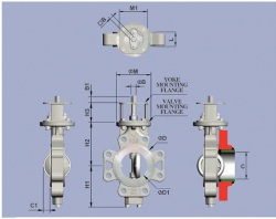 Lug-Double-offset-Butterfly-Valve