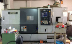 TWIN-SPINDLE-TWIN-TURRET-CNC-LATHE