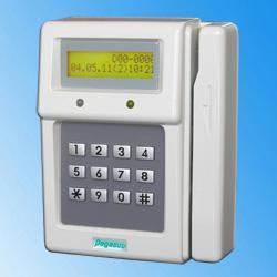 Magnetic-stripe-card-time-attendance-recorder