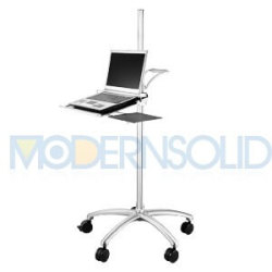 Medical-Notebook-Workstation-Cart