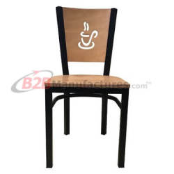Metal-Restaurant-Chair-Coffee-Cup