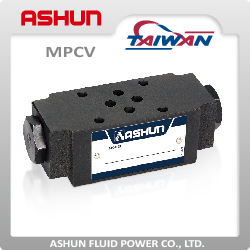 Long Life Low Cost MPCV Modular Pilot Operated Check Hydraulic Valve