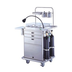 Multi-purpose-emergency-treatment-cart