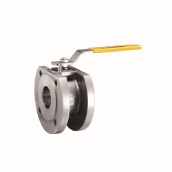 One-piece-Full-Port-Ball-Valve-Flange-End