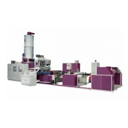 PET Co-Rotary Twin Screw Sheet Making Machine From 100% PET Waste