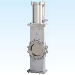 PNEUMATIC-TYPE-STAINLESS-STEEL-KNIFE-GATE-VALVE
