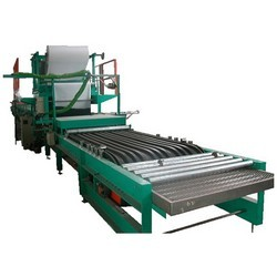 PU-Sandwich-Panel-Rubber-Conveyor-Press-Table