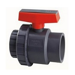 PVC-SINGLE-UNION-BALL-VALVE