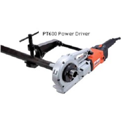 Pipe-threading-power-driver