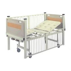 Powder-coated-2-crank-Infant-nursing-bed