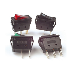 R11-Series Snap-In Rocker Switches