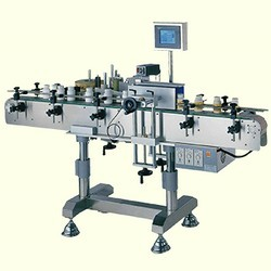 Round-Bottle-Labeling-Machine