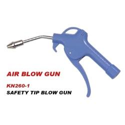SAFETY TIP BLOW GUN
