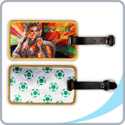 Samba-Girl-Luggage-Tag