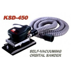 Self-Vacuuming Orbital Sander