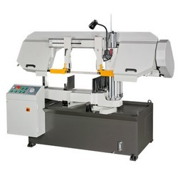 Semi-Auto-Dual-Column-band-saw