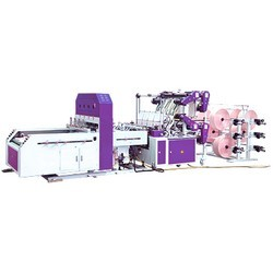 Servo-Control-Sealing--Cutting-Machine