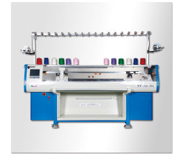 Single-System-Flat-Knitting-Machine