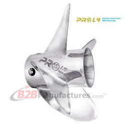 Stainless-Steel-4-Blade-Propeller