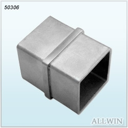 Stainless-Steel-Square-Inline-Tube-Connector