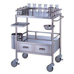 Stainless-steel-medicine-trolley