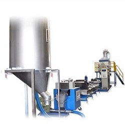 Strand Cutting Extrusion Pelletizing Machine