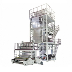 Three-Layer-Co-Extrusion-Blown-Film-Machine